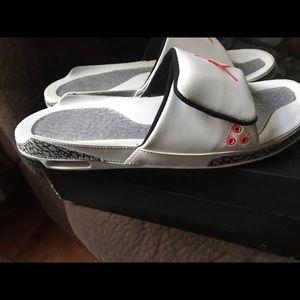 Air Jordan Retro Mens Retro 3 Slides